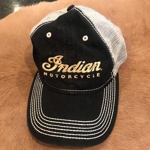 Indian Motorcycle ball cap Sturgis Velcro